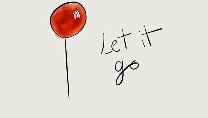 Let it go - the route to authentic confidence