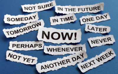 Procrastination – Is it really such a dirty word?